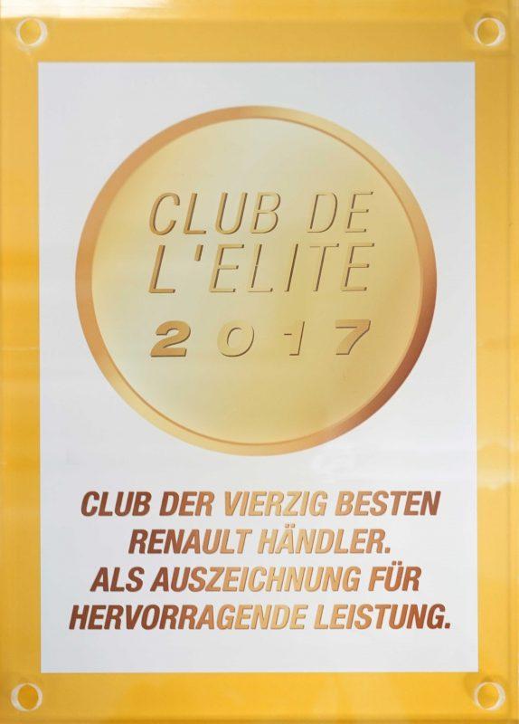 RENAULT Club de Elite 2017