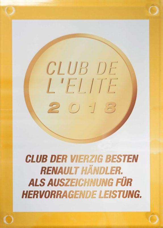 RENAULT Club de Elite 2018