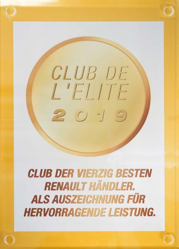 RENAULT Club de Elite 2019